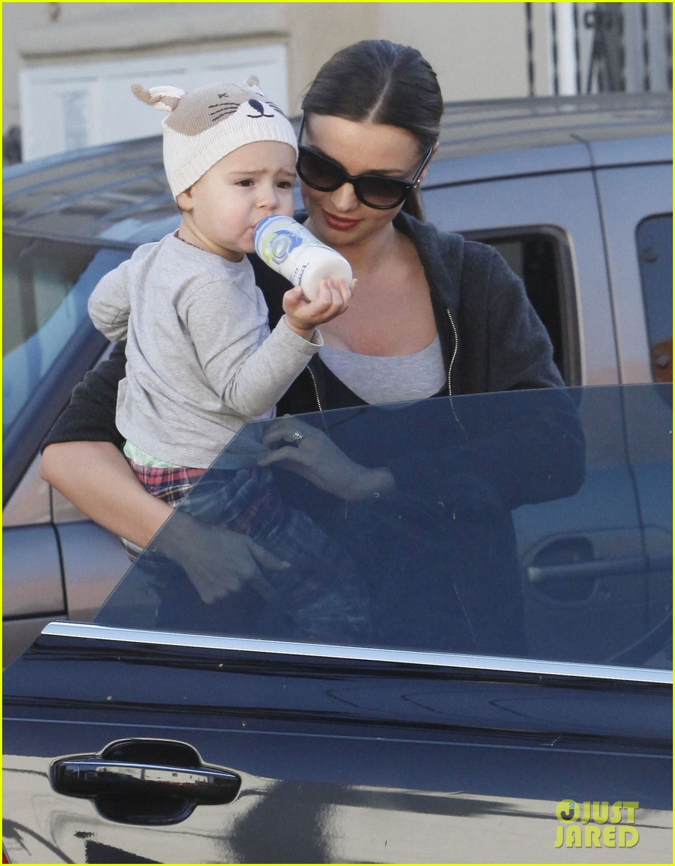 miranda kerr and flynn workout buddies 14