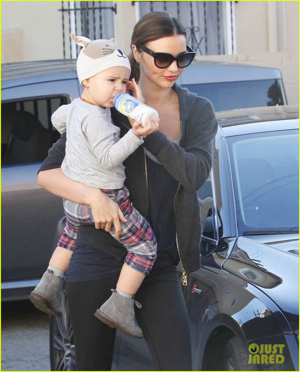 miranda kerr and flynn workout buddies 27