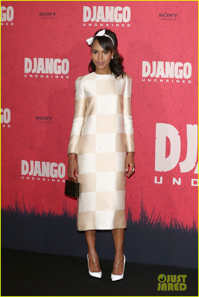kerry washington jamie foxx django berlin photo call 04