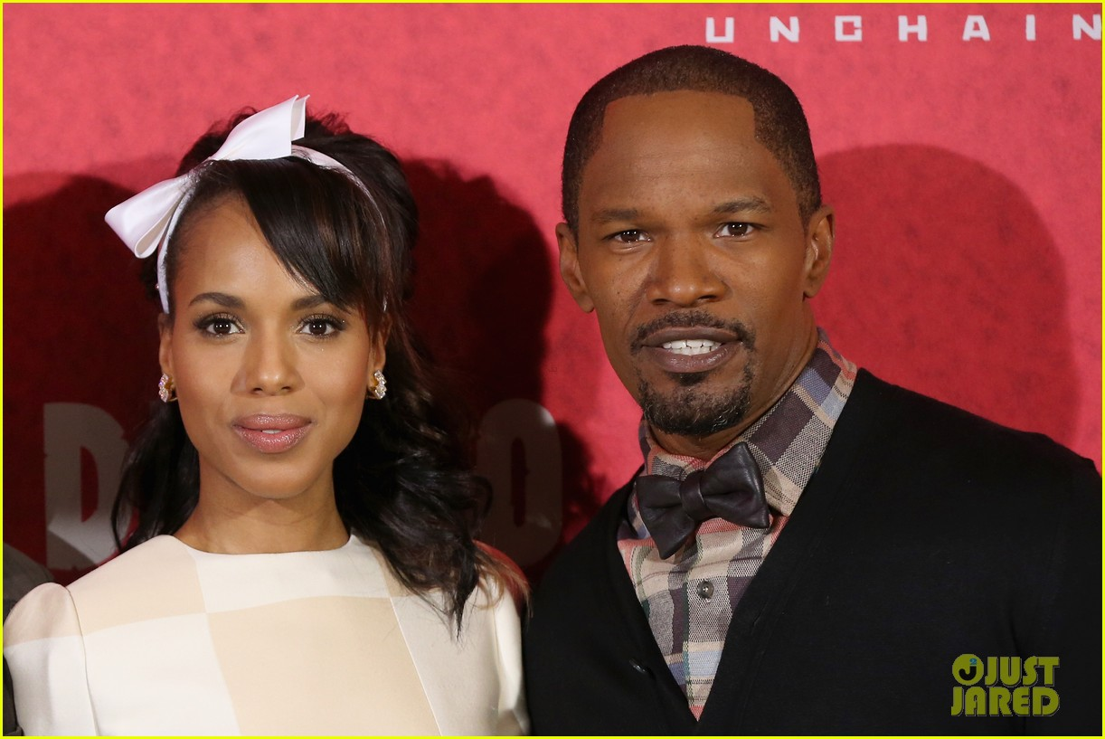 kerry washington jamie foxx django berlin photo call 192786770
