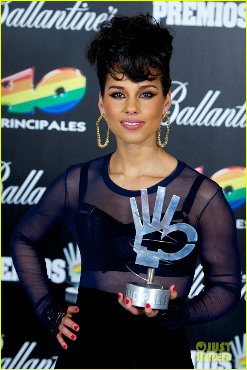 alicia keys 40 principales awards performance watch now 20