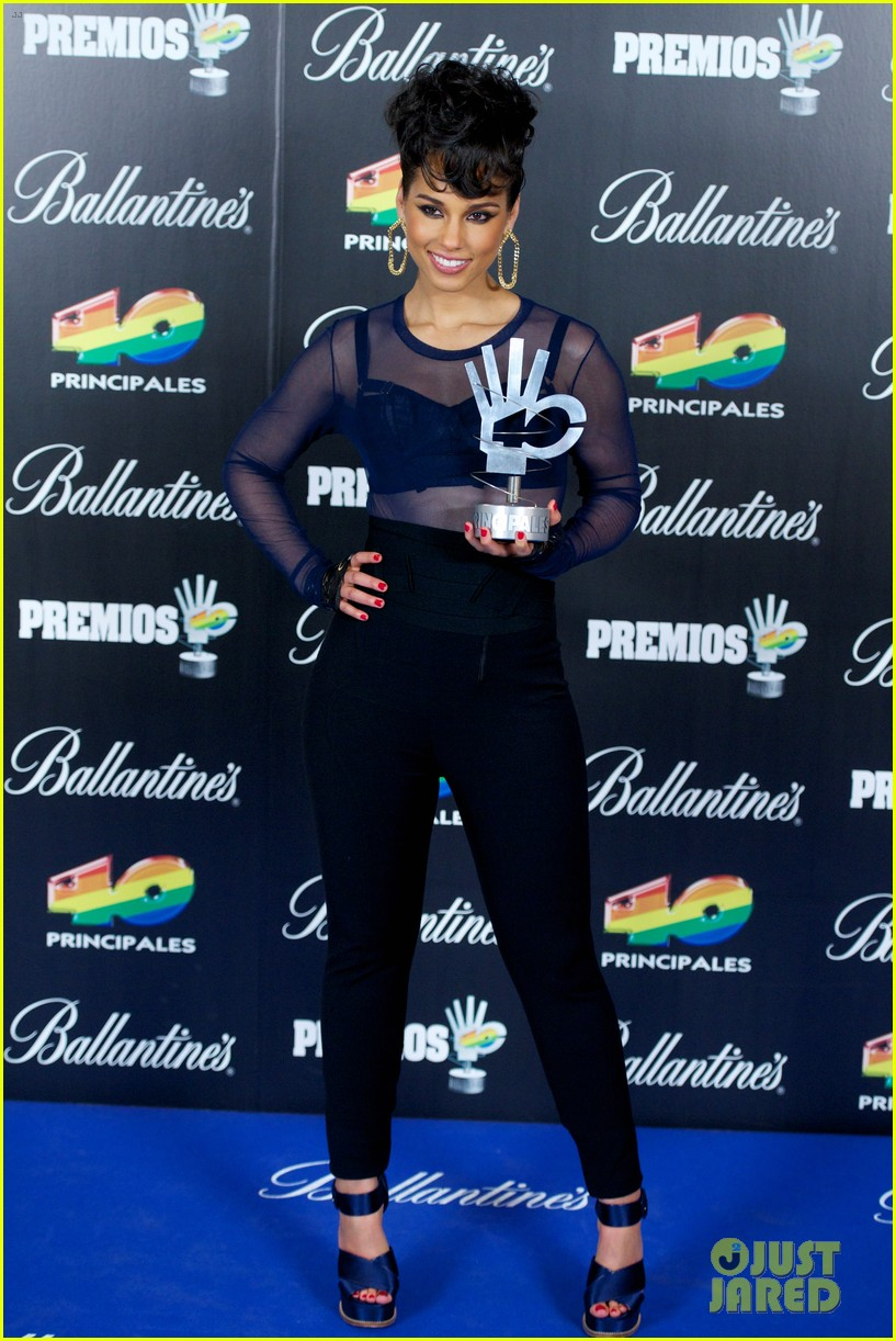 alicia keys 40 principales awards performance watch now 222798280