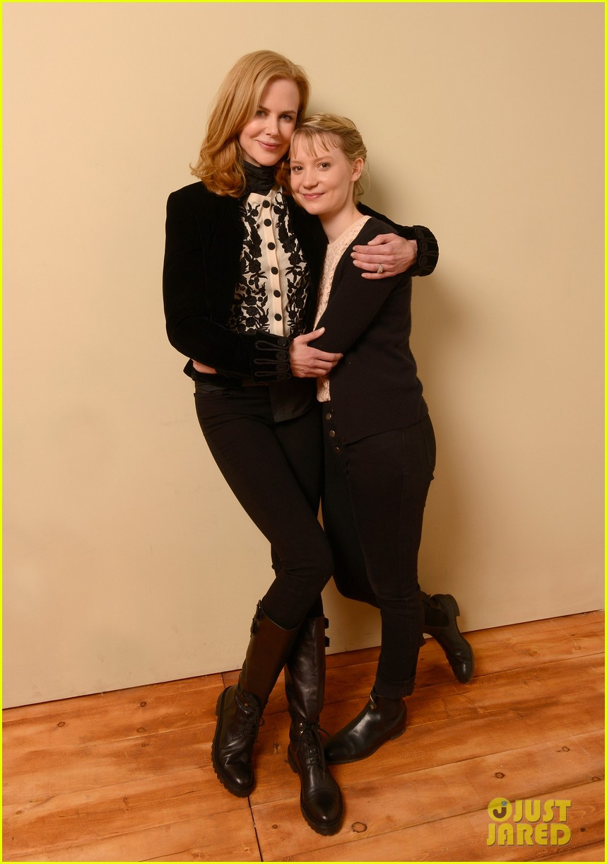 nicole kidman mia wasikowska stoker sundance portraits 01