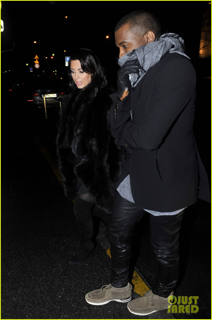 kim kardashian kanye west perfect night in paris 02