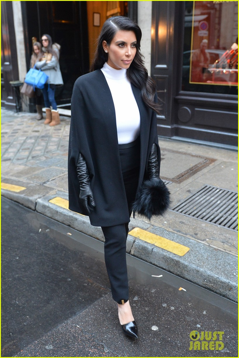 kim kardashian kanye west perfect night in paris 092797413