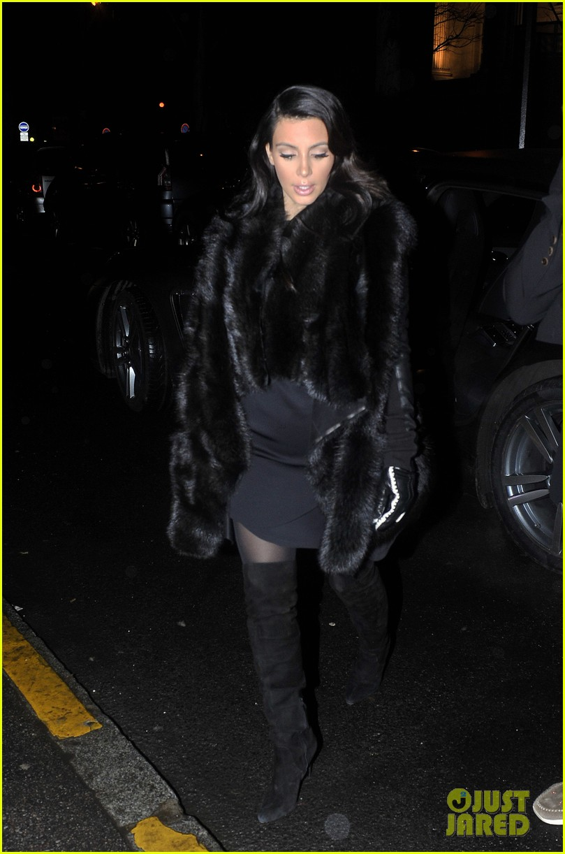 kim kardashian kanye west perfect night in paris 15