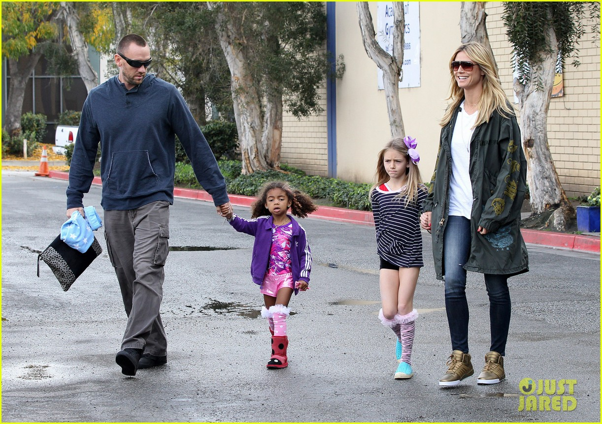 Pics photos heidi klum martin kristen s family day with the kids