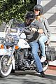 heidi klum martin kirsten motorcycle couple 13