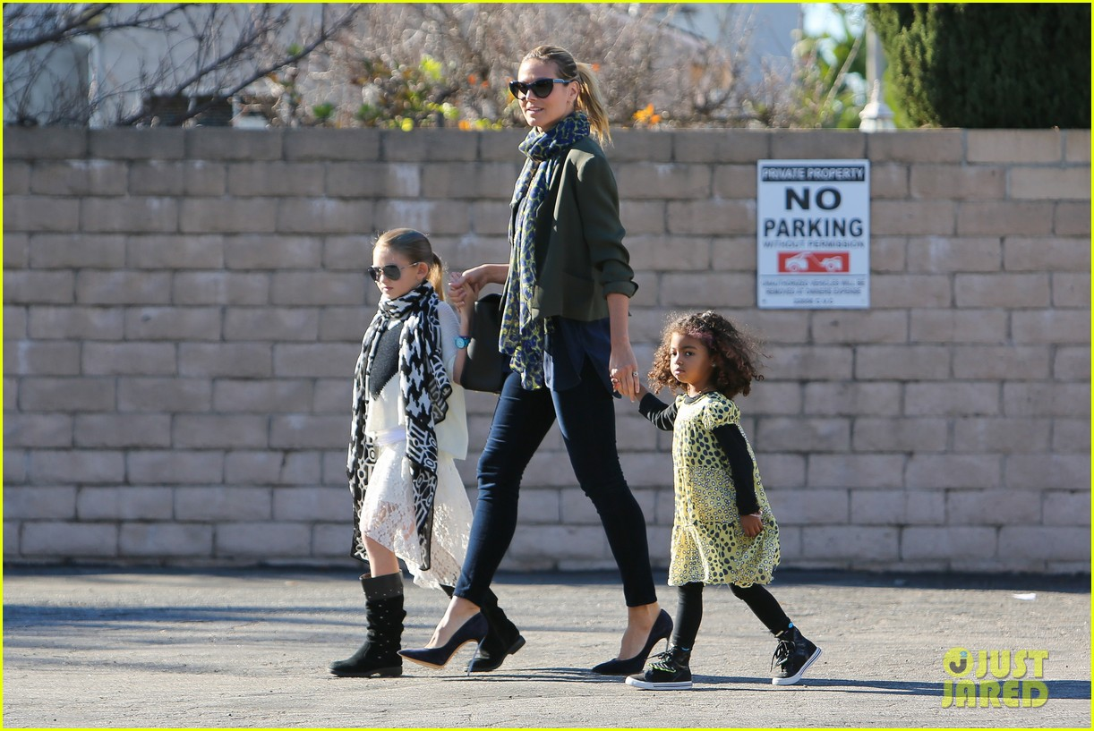heidi klum martin kirsten lunch shopping with the girls 032784586