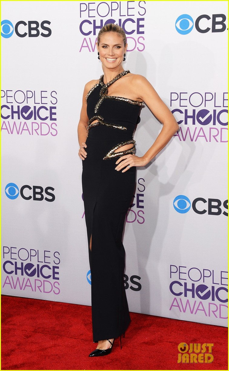 heidi klum peoples choice awards 2013 red carpet 11