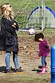 heidi klum martin kirsten swinging saturday with the kids 10