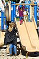 heidi klum martin kirsten swinging saturday with the kids 16