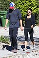 ashton kutcher mila kunis saturday morning walk 06