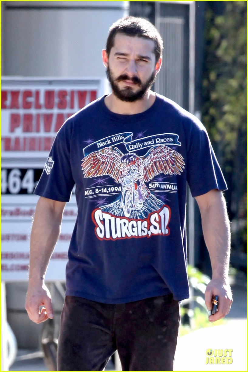 shia labeouf sturgis motorcycle rally supporter 042784874