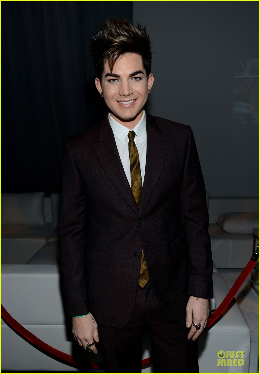 adam lambert step up on vine grand opening  04