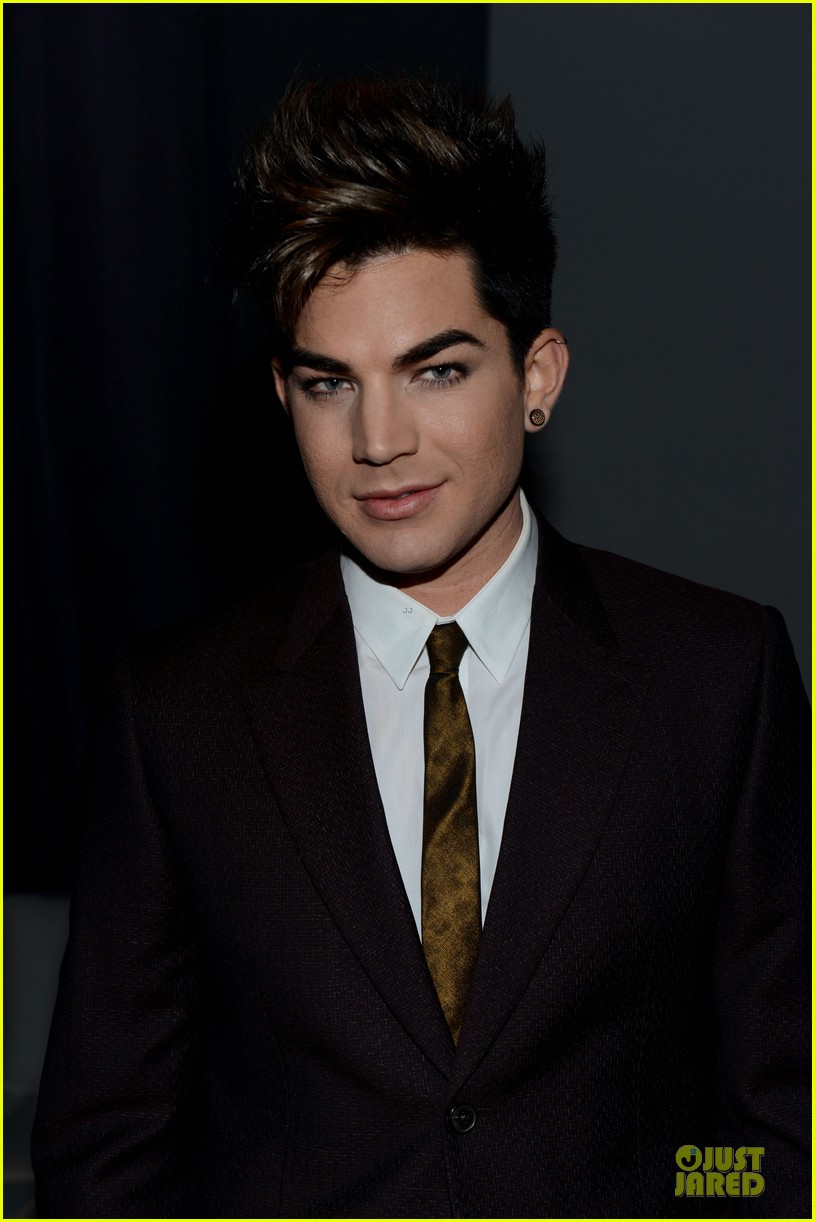 adam lambert step up on vine grand opening  08