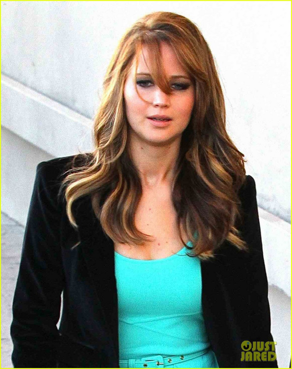 jennifer lawrence jimmy kimmel live lady 06