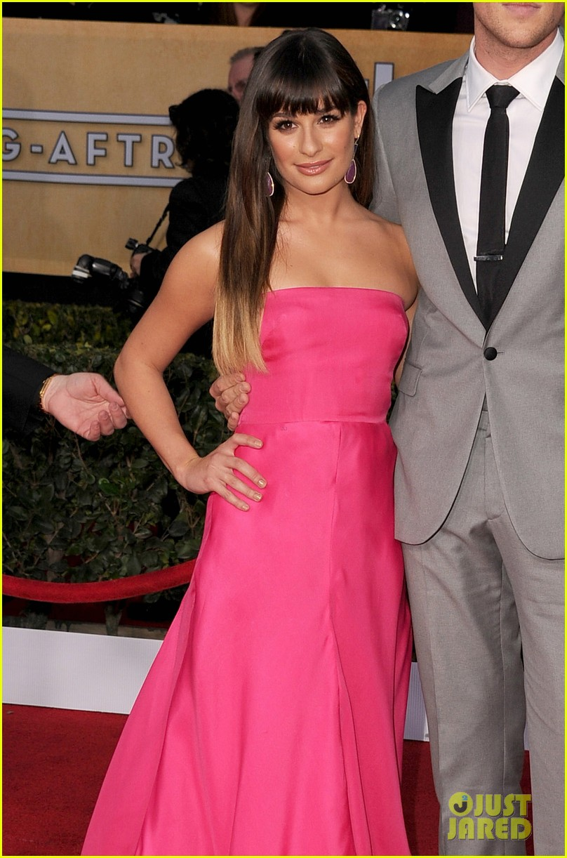 lea michele sag awards 2013 01