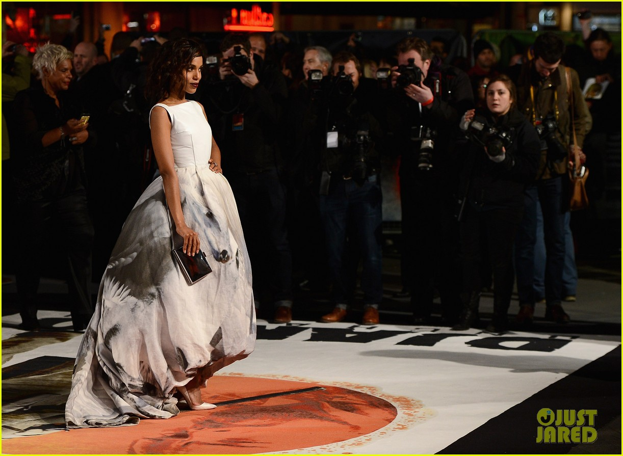 kerry washington jamie foxx django unchained uk premiere 15