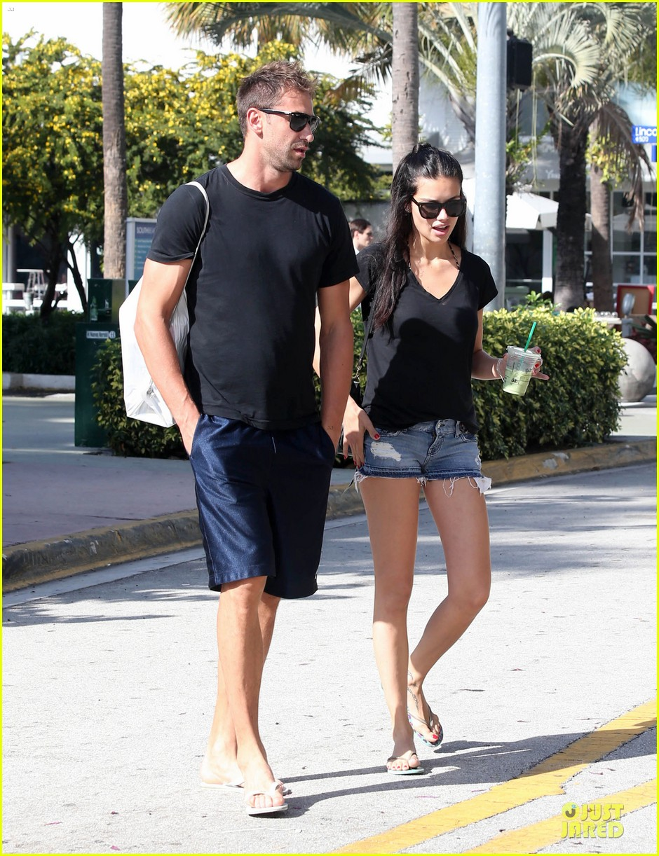 adriana lima chilling with husband marko jaric 112785235