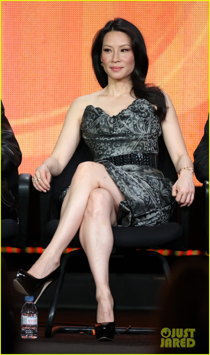 lucy liu theo james cbs tca panel 17