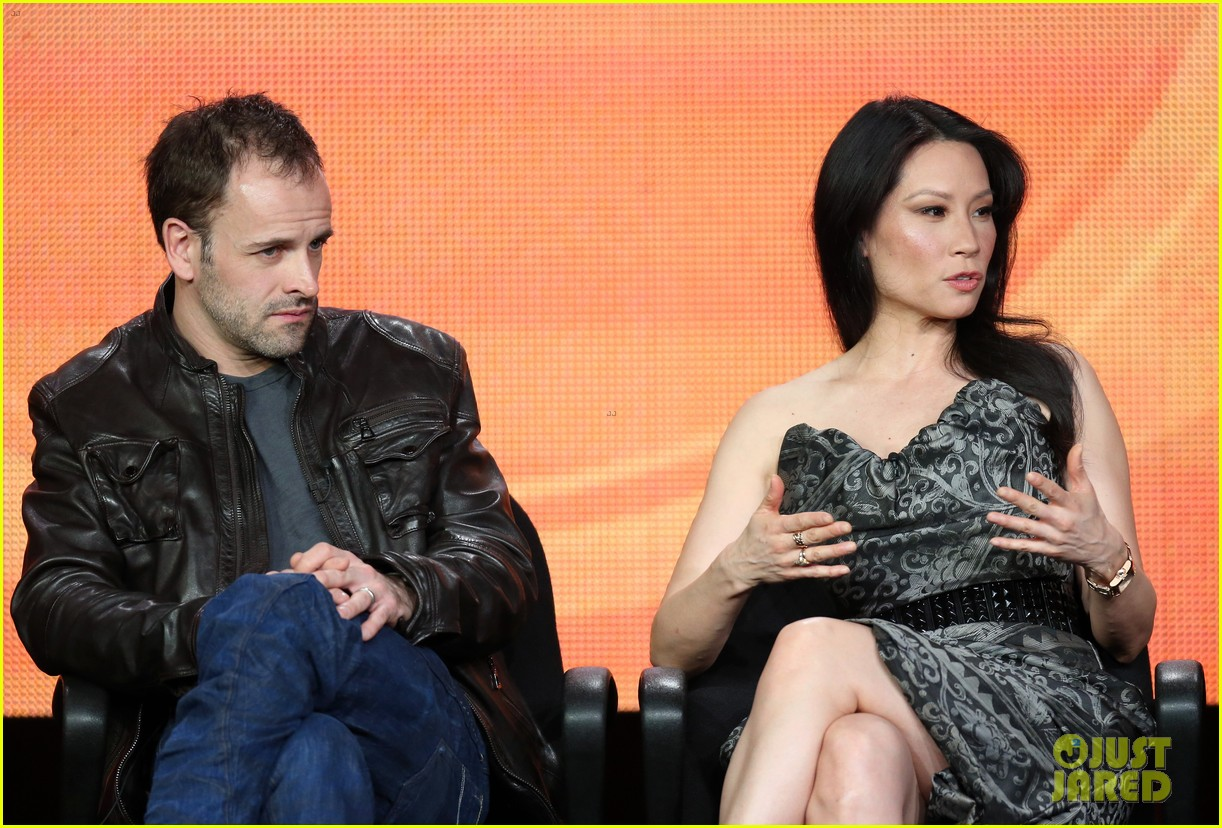 lucy liu theo james cbs tca panel 182790387