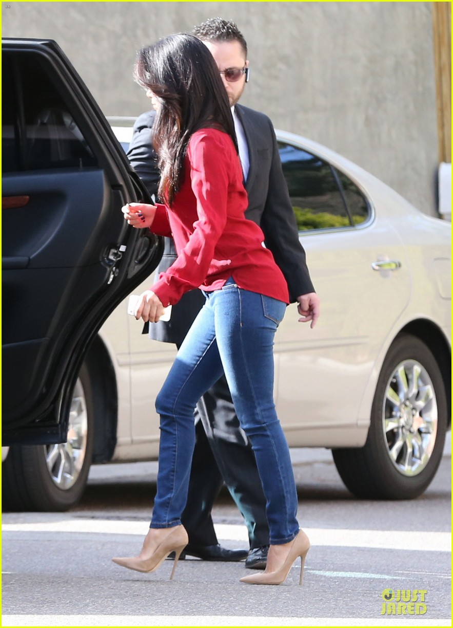 eva longoria red hot work day in santa monica 26