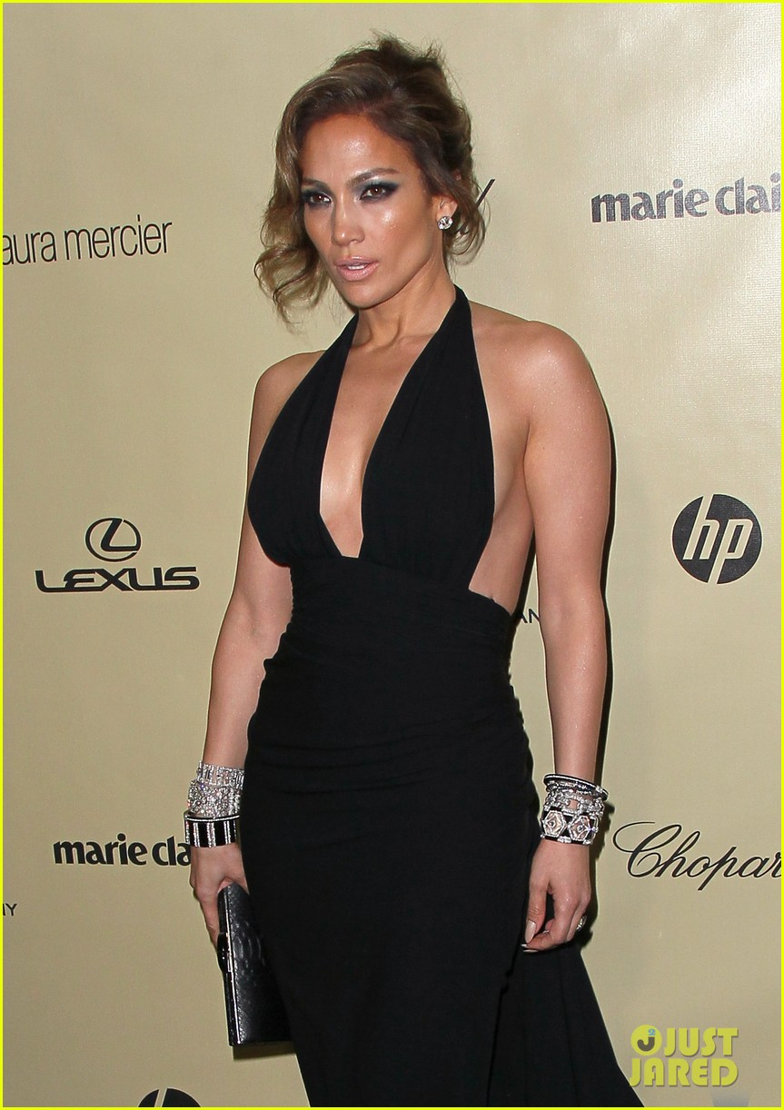 jennifer lopez casper smart golden globes parties 2013 08