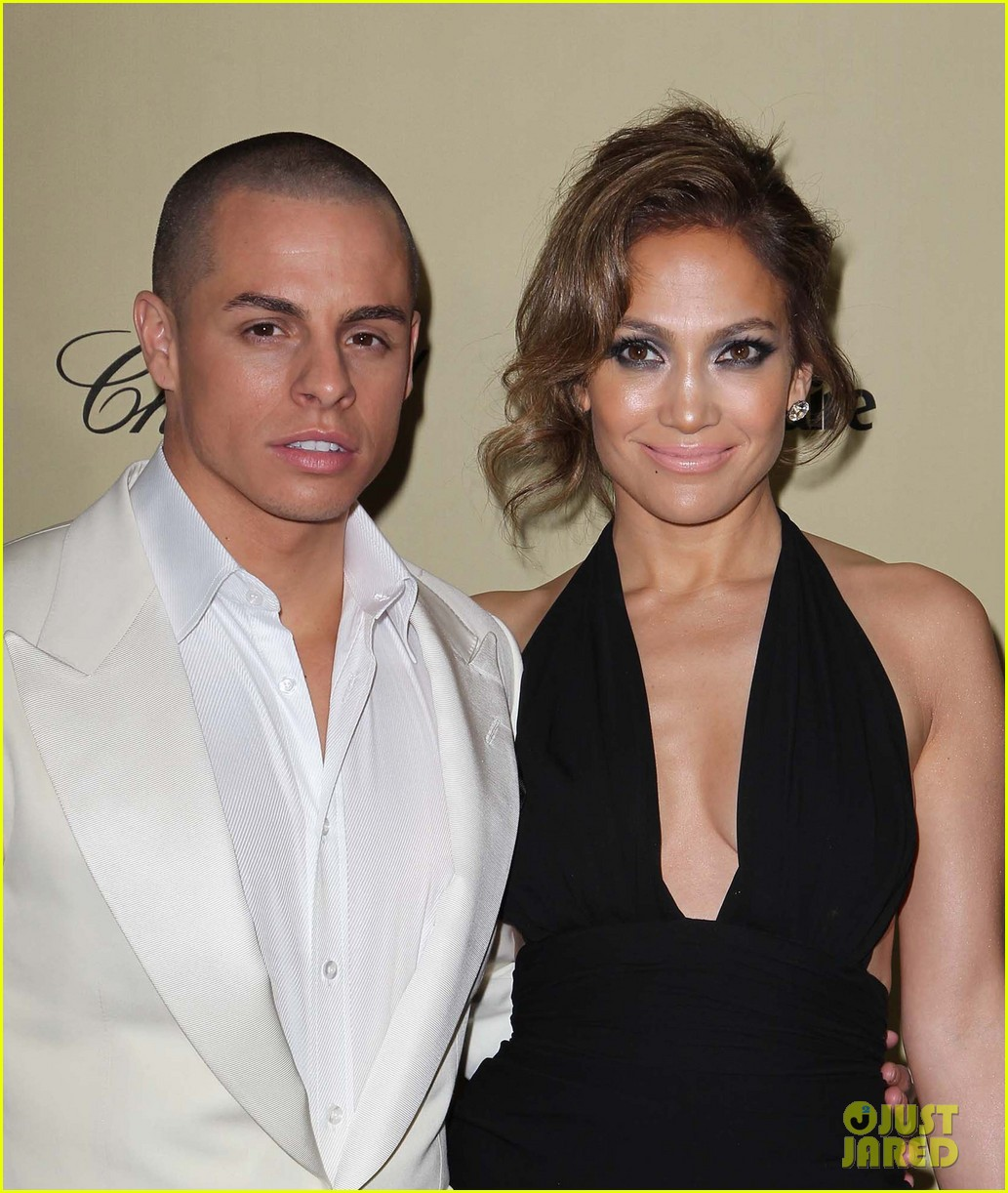 jennifer lopez casper smart golden globes parties 2013 16