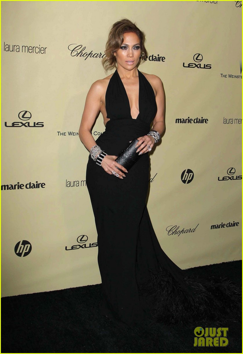 jennifer lopez casper smart golden globes parties 2013 20