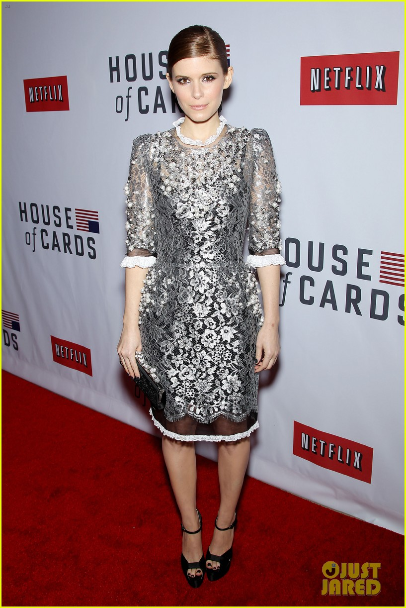kate rooney mara house of cards new york premiere 12
