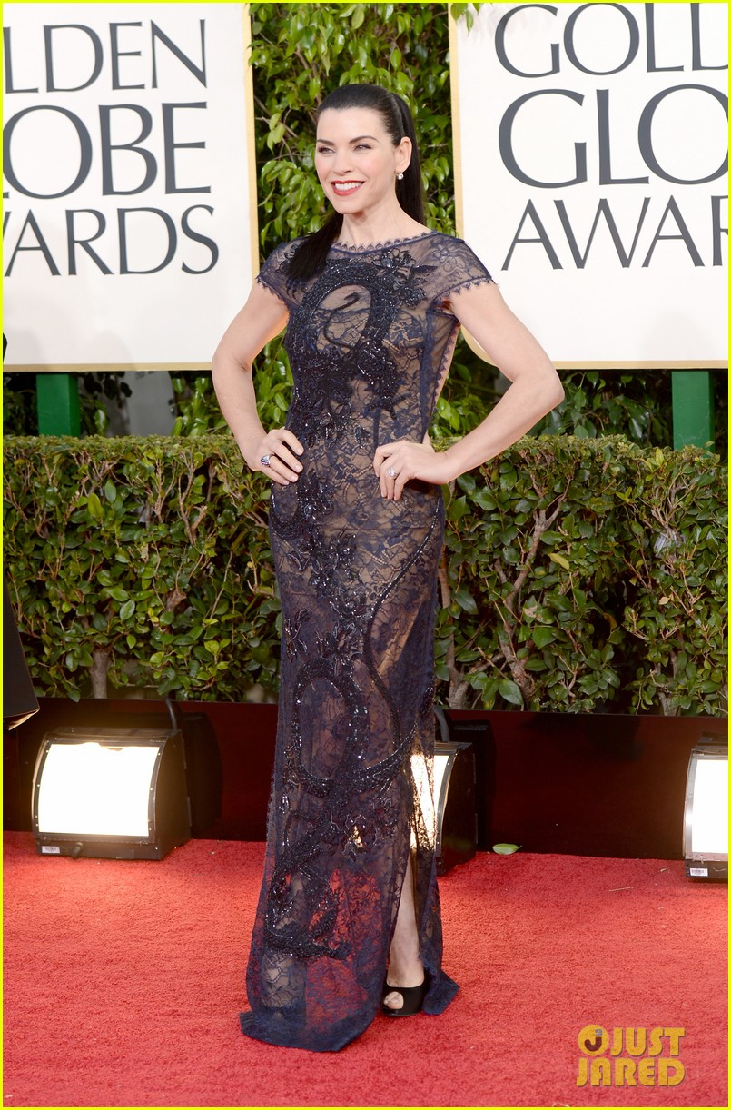 julianna margulies golden globes 2013 red carpet 07
