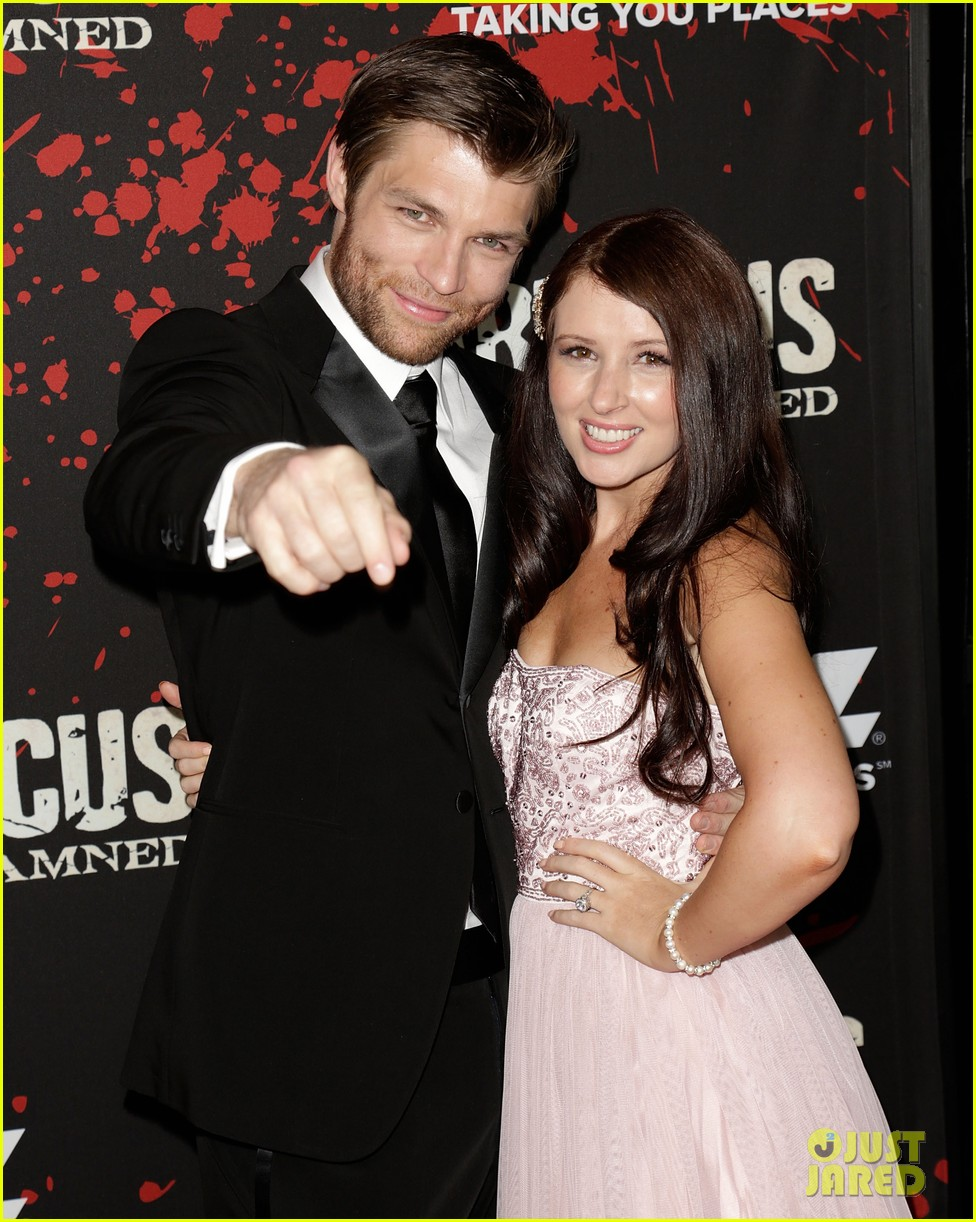 liam mcintyre spartacus war of the damned premiere 27