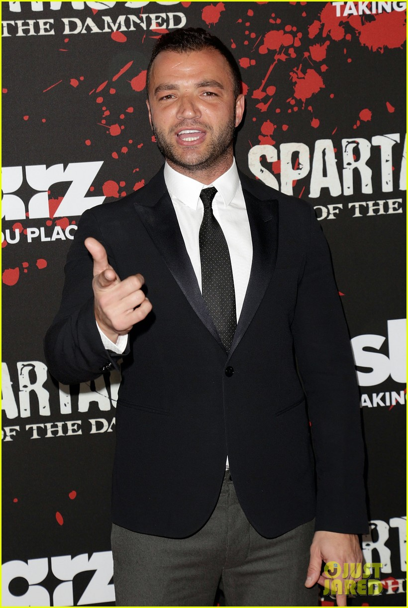 liam mcintyre spartacus war of the damned premiere 28