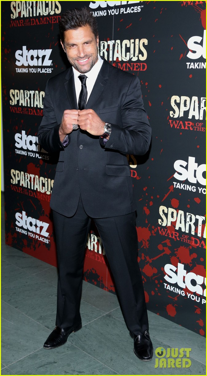 liam mcintyre spartacus war of the damned ny premiere 11