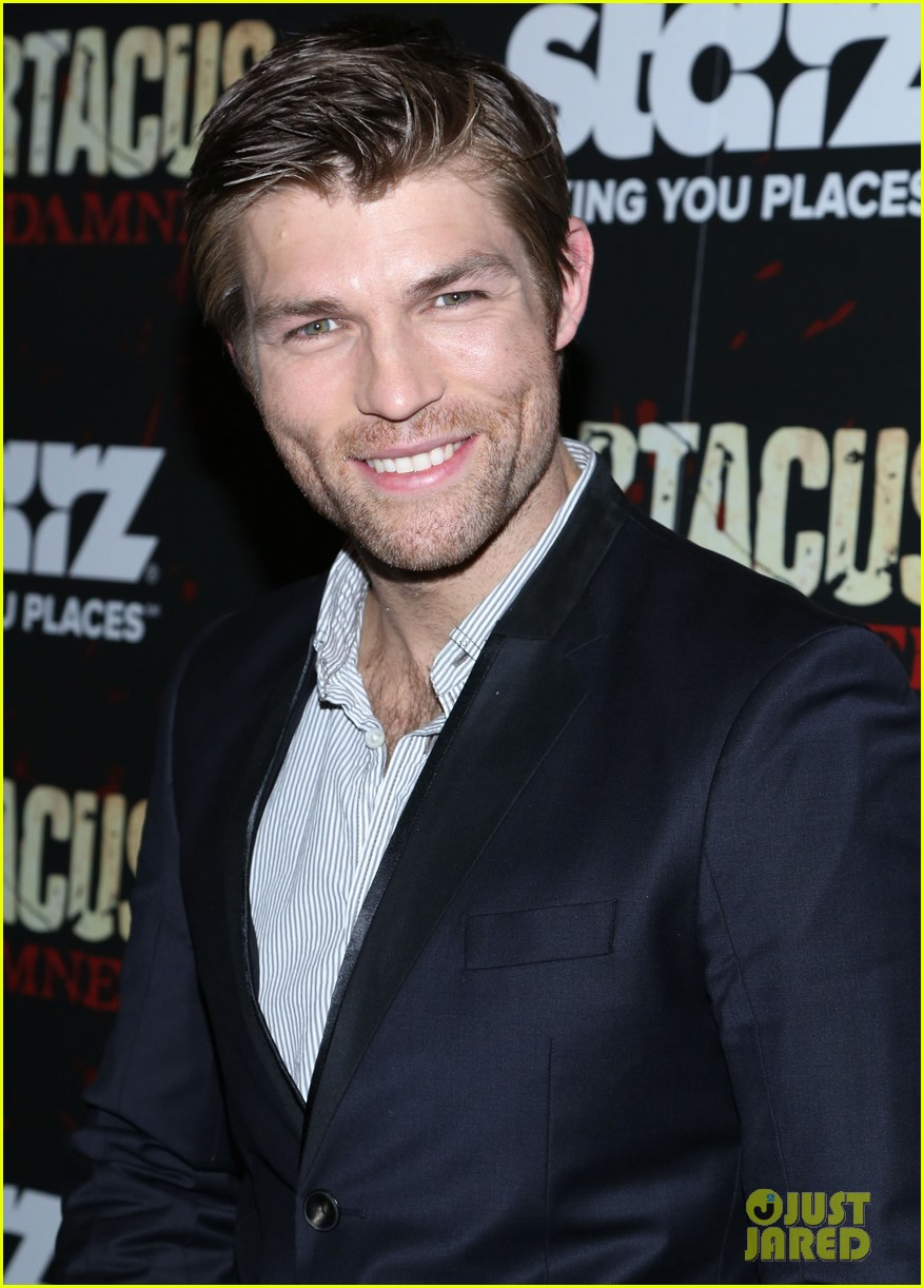 liam mcintyre spartacus war of the damned ny premiere 16
