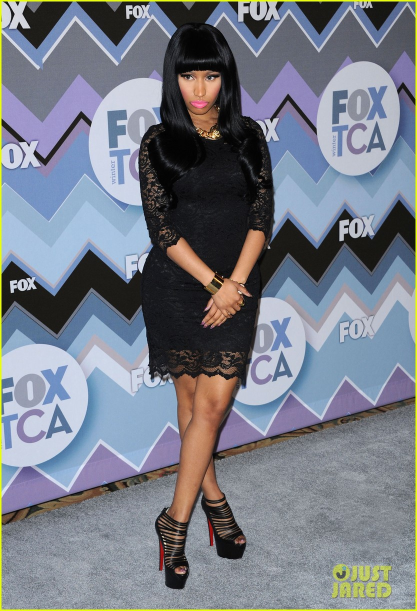 nicki minaj fox tca all star party 01