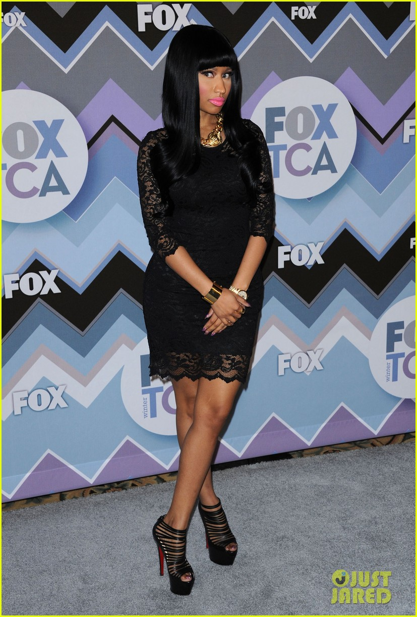 nicki minaj fox tca all star party 10