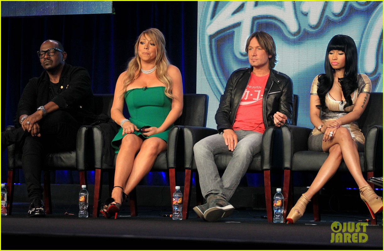 mariah carey nicki minaj american idol tca panel 032786944