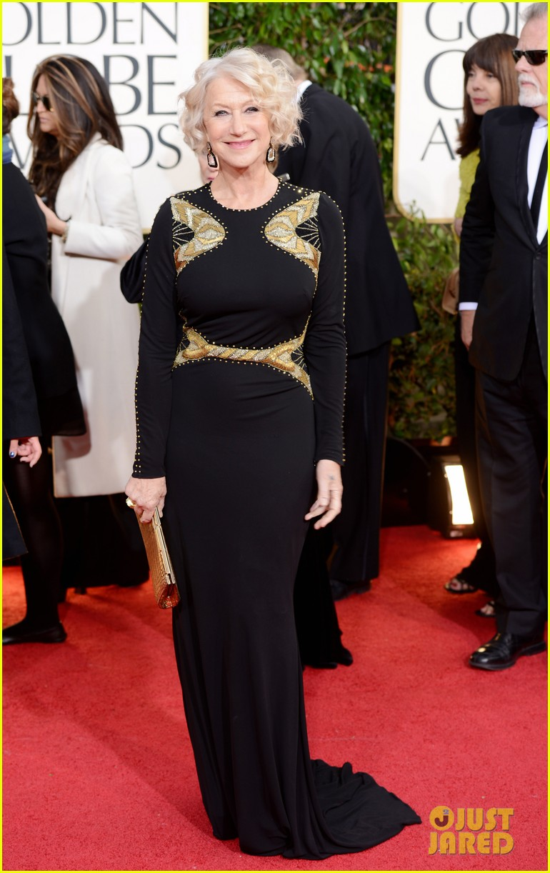 helen mirren glenn close golden globes 2013 red carpet 07