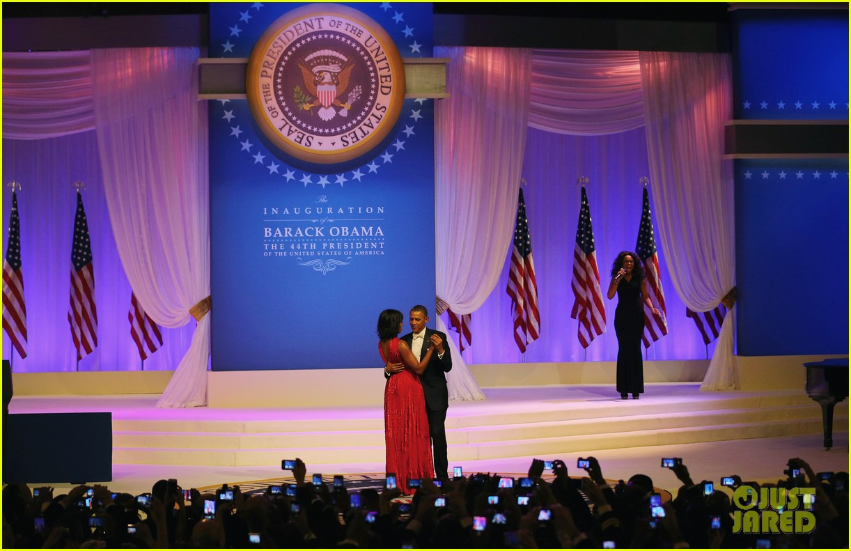 president barack obama michelle inaugural ball dance video 072796409