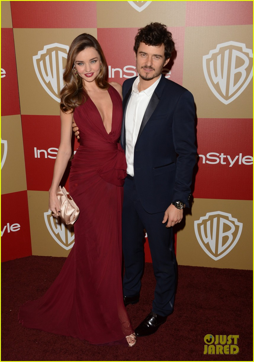 miranda kerr orlando bloom golden globes 2013 after party 10