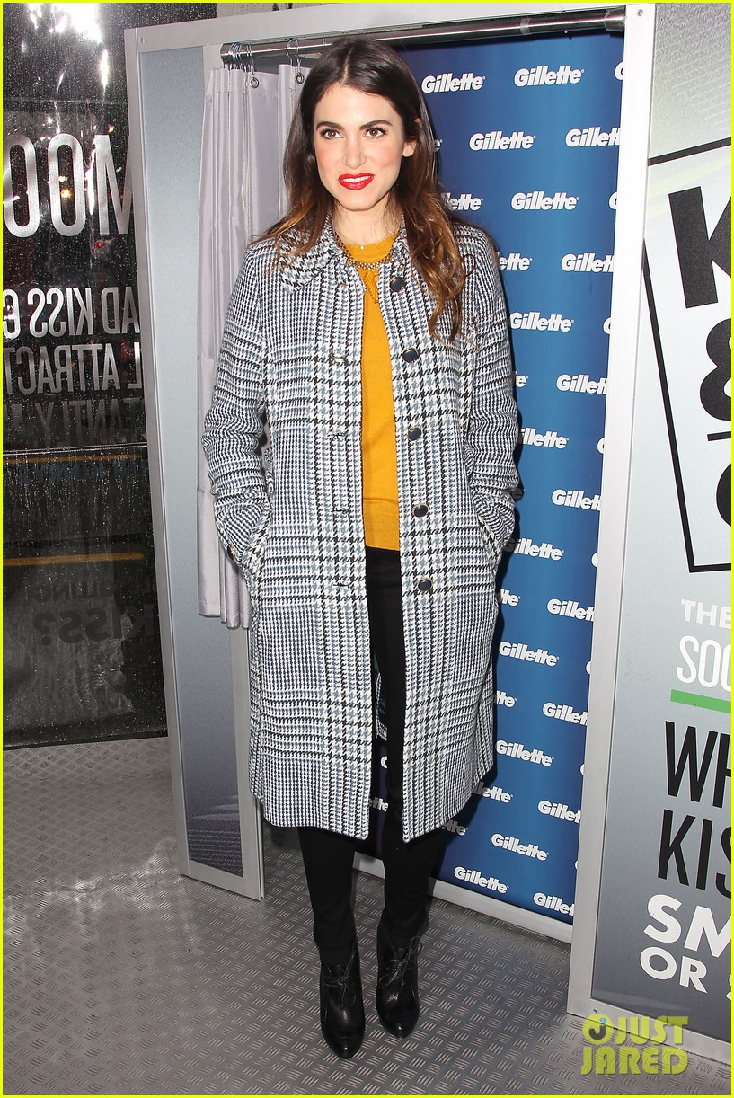nikki reed kiss tell event for gillette 21