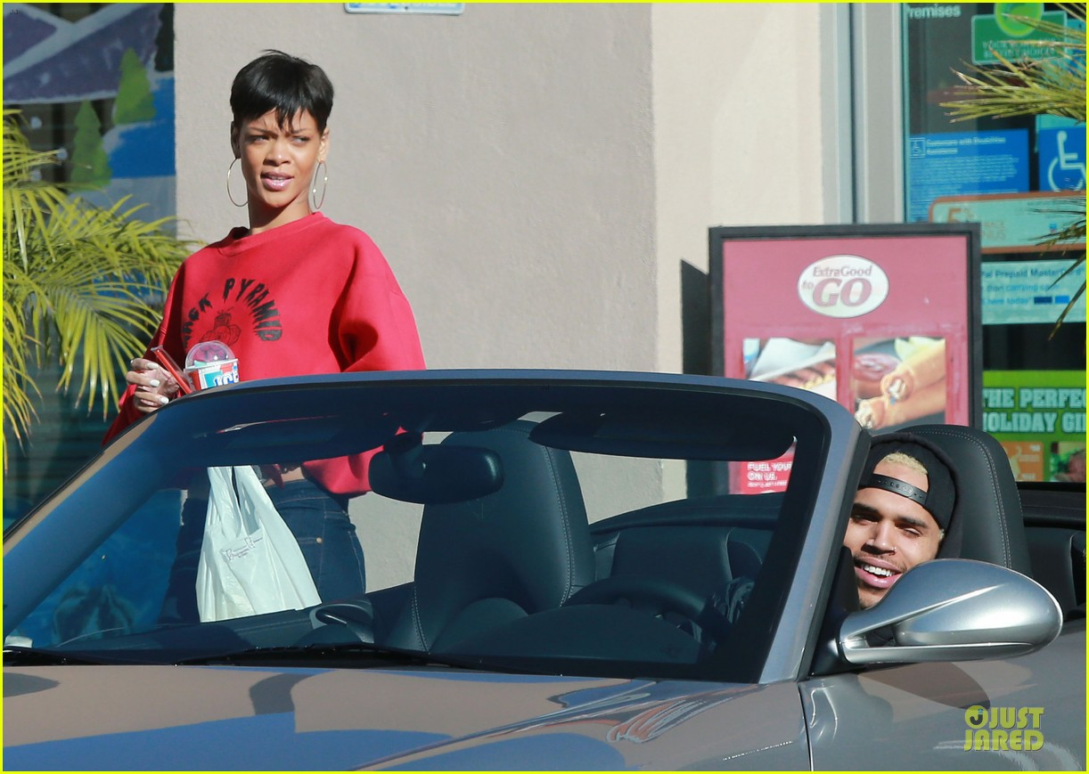 rihanna & chris brown slurpee craving stop 01