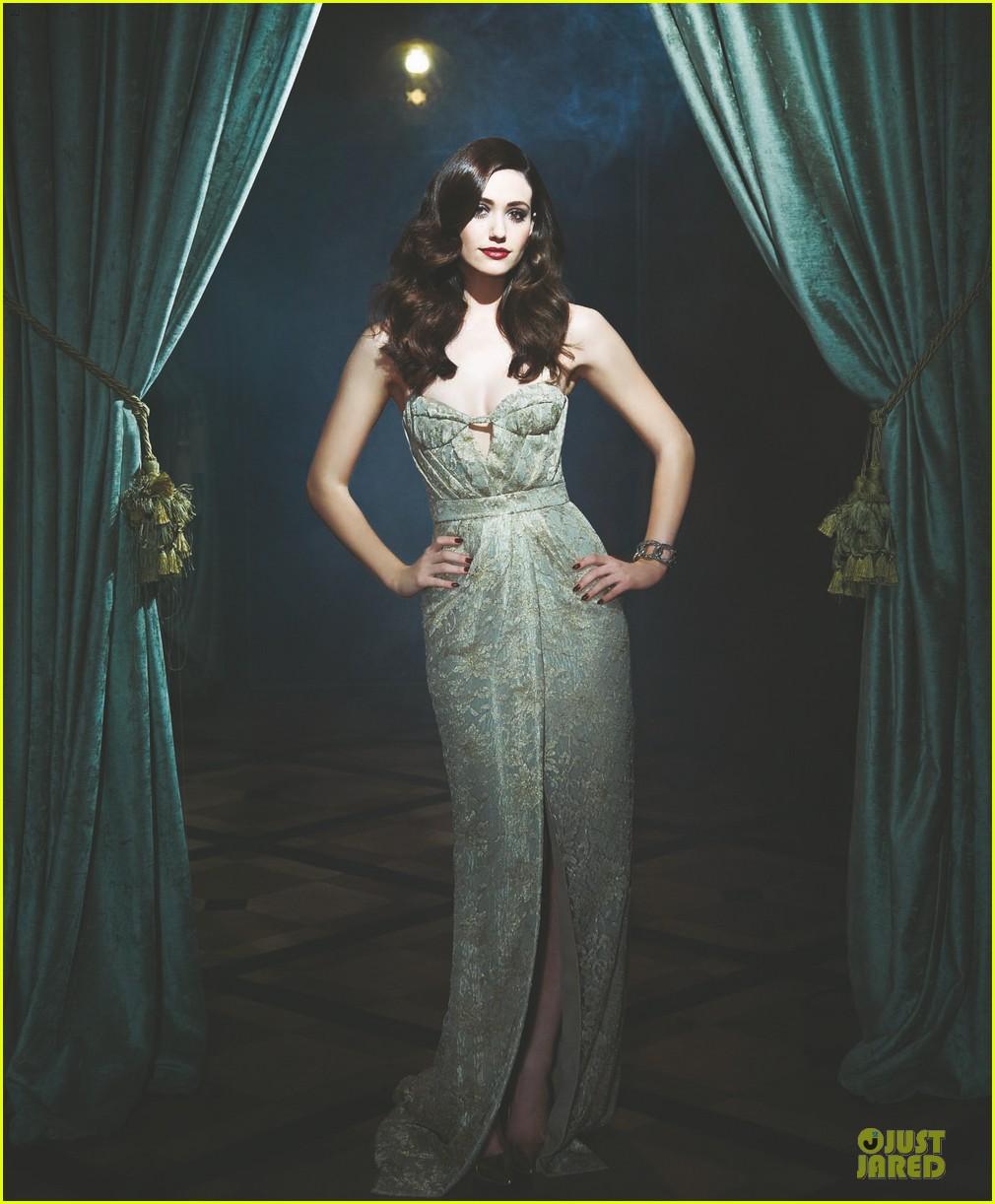 Emmy Rossum Glamorizes Manhattan Magazine