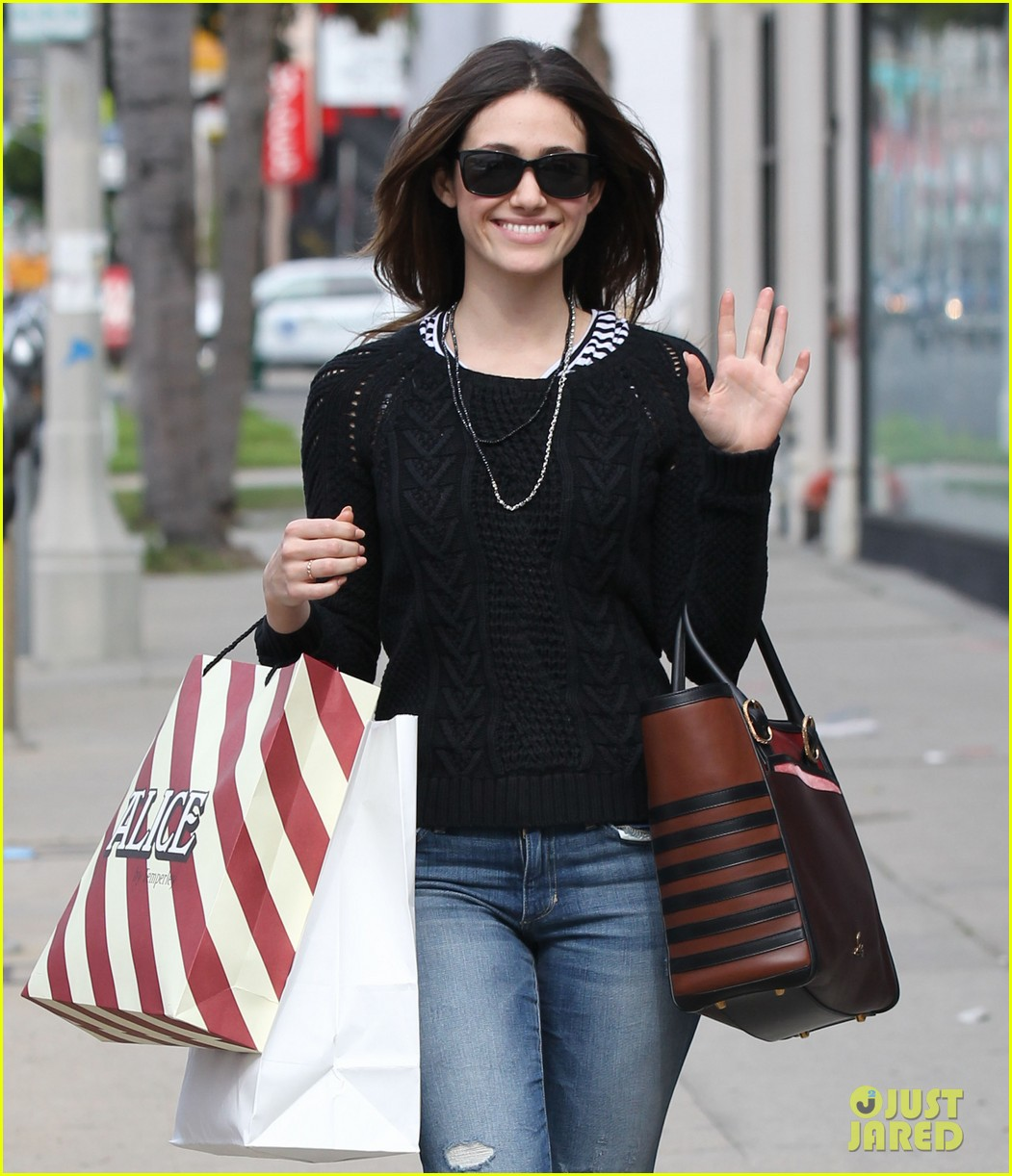 emmy rossum sentimental journey in stores next week 042798083