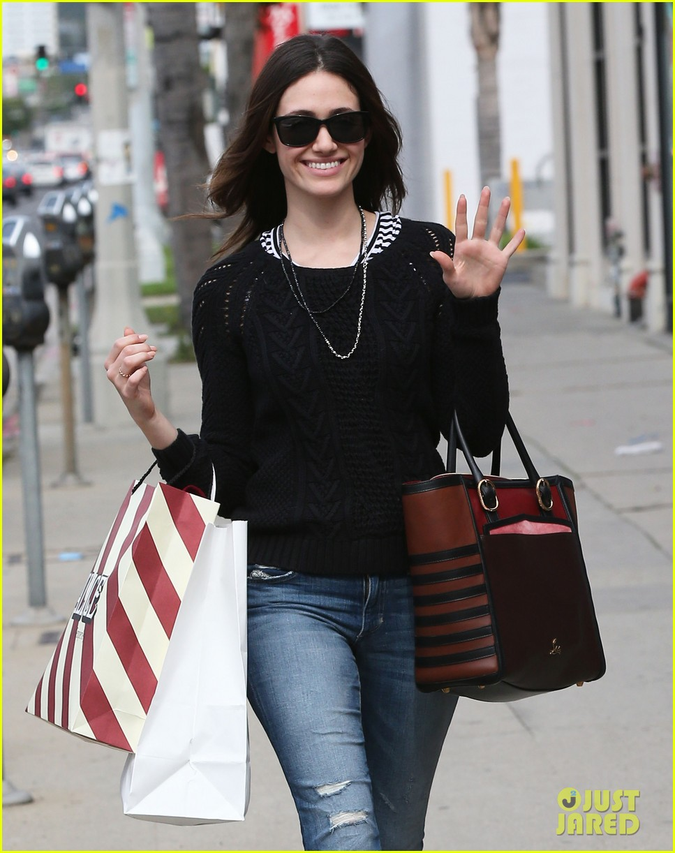emmy rossum sentimental journey in stores next week 10