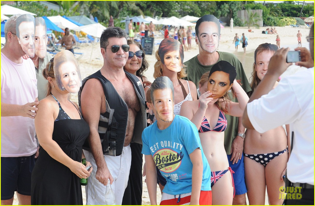 simon cowell shirtless new years eve with mezhgan huissany 282783309