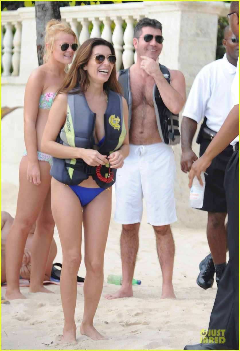 simon cowell shirtless new years eve with mezhgan huissany 31