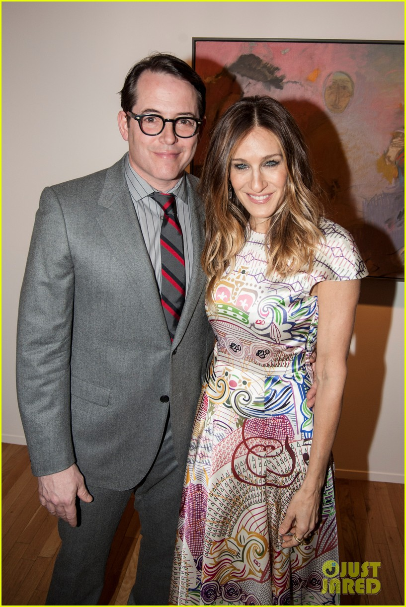 sarah jessica parker celebrates patricia brodericks paintings 092796736